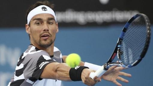 Tennis: Fognini resta l'unico azzurro agli Internazionali d'Italia, battuto Albot 7-6 6-3