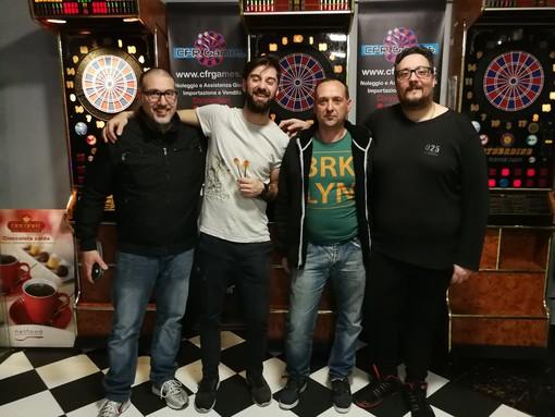 Freccette. Grande successo a Rapallo per la seconda edizione del Torneo dell'Anello