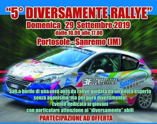 Domenica 29 settembre, appuntamento con la 5a edizione di 'Diversamente rally' organizzata da Lions Club Host e 3F Competition