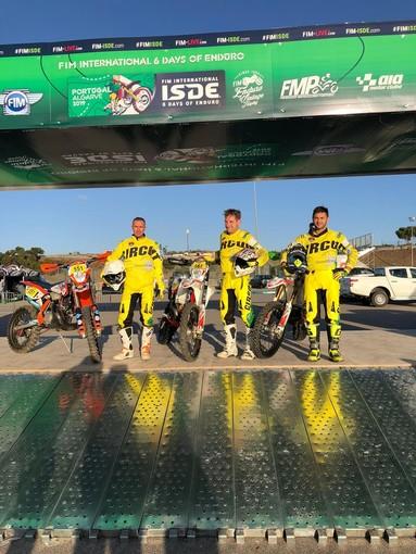 Motori. Enduro Sanremo, Walter Ludi, Roberto Consolini e Francesco Sibelli pronti ad essere protagonisti in Portogallo