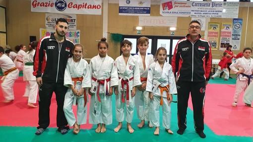 Arti marziali. Buoni piazzamenti per i giovani atleti dell'OK Club Imperia al Torneo 2020 speranze del judo