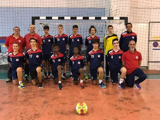 """Pallamano, Under 17 maschile. Team Schiavetti Imperia, ottimo inizio di stagione e vittoria sul Cavigal Nizza. Coach Lurgio: """"Contento del gioco espresso"""""""