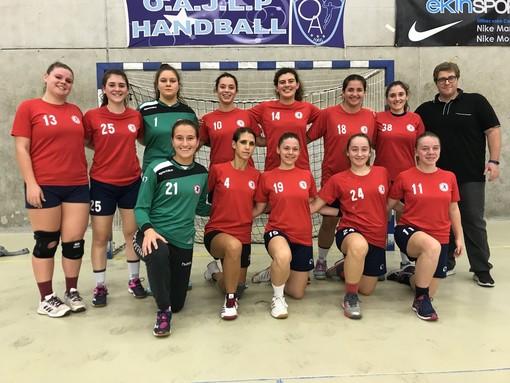 Pallamano. Team Schiavetti Imperia, la Senior femminile vince il derby con la Riviera Handball