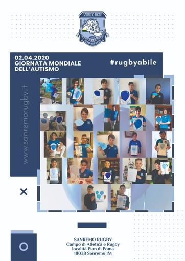 Giornata mondiale sull'autismo: il Sanremo Rugby si tinge di blu