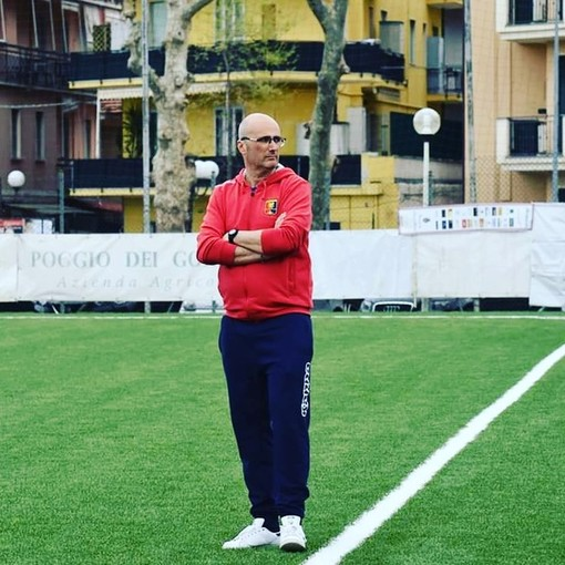 Davide Torregrossa, allenatore della Dianese&Golfo Juniores