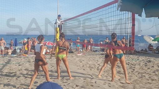 Grande partecipazione alla prima giornata della tappa di Beach Volley a Diano Marina