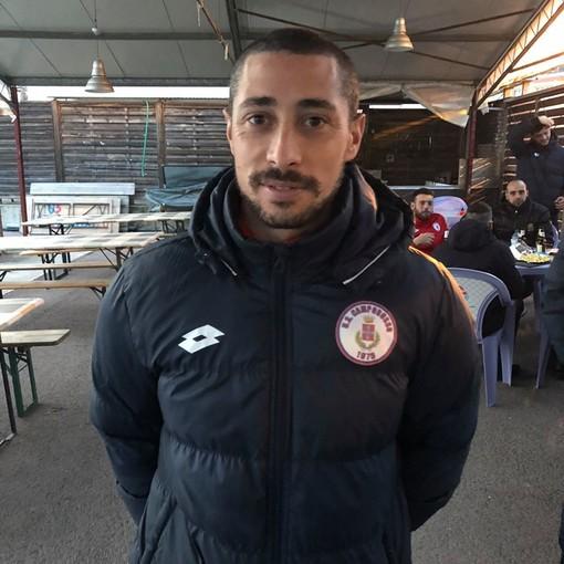 Tiberio Giunta, giocatore fondamentale per il Camporosso(foto tratta dalla Pagina Facebook dell'Unione Sportiva Camporosso)